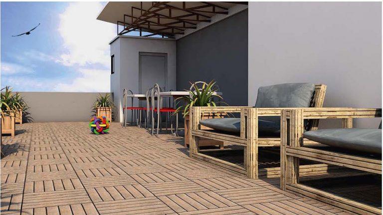 Roof Top Lounge Mercury Icon Luxury Homes